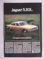 Jaguar XJ12L | Print Ads