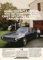 When You Buy A Javelin You Get Something You Can't Get ..... | Print Ads