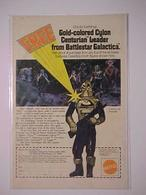 Gold-Colored Cylon Centurian™ Leader From Battlestar Galactica™ | Print Ads