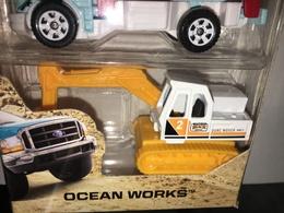 Excavator | Model Construction Equipment | '18 Ocean Works 5-Pack