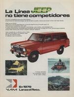La Línea Jeep No Tiene Competidores   Print Ads