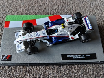 Bmw sauber robert kubica 2008 model racing for Kubica cars