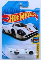Porsche 917 LH | Model Racing Cars | HW 2018 - Collector # 269/365 - Legends of Speed 8/10 - Porsche 917 LH - White / Gulf Racing - International Long Card
