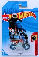 HW450F | Model Motorcycles | HW 2018 - Collector # NONE - HW Daredevils 3/5 - HW450F - Red - International Long Card