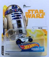 R2-D2 | Model Cars | HW 2018 - Star Wars Character Cars # FLJ57 - R2-D2 - White - White Card