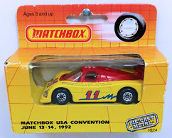Group C Racer | Model Racing Cars | MB 1992 - Matchbox Convention 11th Annual - Group C Racer - Red over Yellow - Boxed