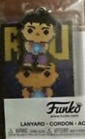 Ryu (8-Bit) (Blue Gi)   Lanyards