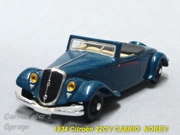Citroën 22 CV Cabriolet | Model Cars