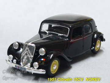 1951 Citroën 15 Six | Model Cars