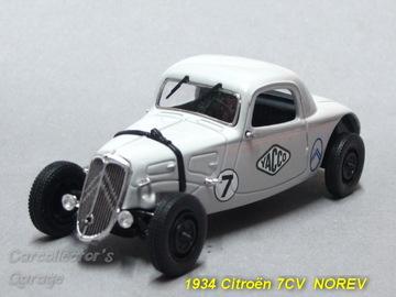 1934 Citroën 7CV Race Car | Model Cars