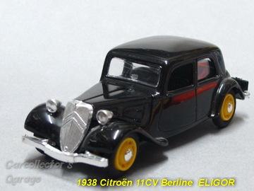 1938 Citroën 11CV Berline | Model Cars