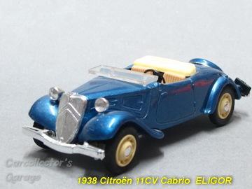 1938 Citroën Traction Avant Convertible | Model Cars