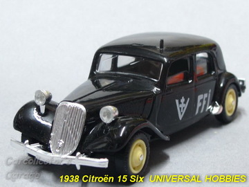 1938 Citroën 15 Six | Model Cars