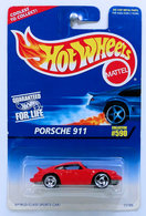 Porsche 911    | Model Cars | HW 1997 - Collector #590 - Porsche 911 - Red - Sawblades Large on Front, Small on Rear - Older Card