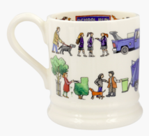 School Run 1/2 Pint Mug - Emma Bridgewater | Ceramics | School Run 1/2 Pint Mug