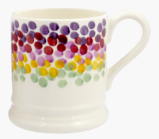 Rainbow Dots 1/2 Pint Mug - Emma Bridgewater  | Ceramics | Rainbow Dots 1/2 Pint Mug