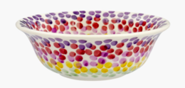 Rainbow Dots Cereal Bowl - Emma Bridgewater  | Ceramics | Rainbow Dots Cereal Bowl
