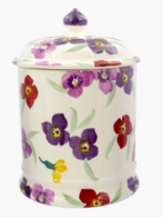 Wallflower Plain 2 Pint Jar - Emma Bridgewater  | Ceramics | Wallflower 2 Pint Storage Jar