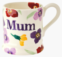 Wallflower Mum 1/2 Pint Mug - Emma Bridgewater | Ceramics | Wallflower Mum Mug