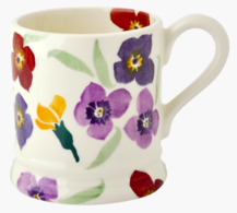 Wallflower 1/2 Pint Mug - Emma Bridgewater | Ceramics | Wallflower 1/2 Pint Mug