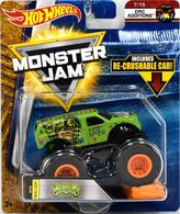 Jester   Model Trucks   HW MJ Jester with Crushable Car