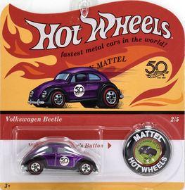 Volkswagen Beetle | Model Cars | Hot Wheels 50th Anniversary VW Beetle