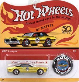 1968 Cougar | Model Cars | Hot Wheels 50th Anniversary Cougar