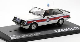 Ford Escort MKII RS2000 Police Car | Slot Cars