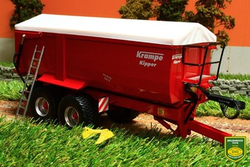 Krampe 650 S Rear Side Tipper Trailer | Model Farm Vehicles & Equipment