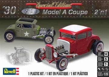 1930 Ford Model A Coupe 2'n 1 | Model Car Kits