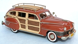 1942 Windsor Town & Country aka Beetleback | Model Cars | The 1942 Chrysler Town & Country, known as the 'Beetleback' - probably the best example of a MCUSA model