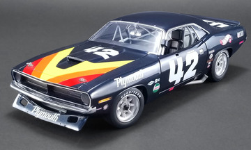 1970 Plymouth Barracuda Trans Am - Swede Savage | Model Racing Cars