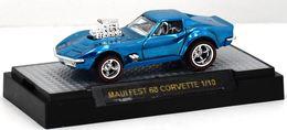 '68 Corvette - Gas Monkey Garage | Model Cars | 68 Corvette GMG Spec Blue Custom