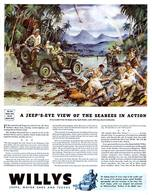 A Jeep's-Eye View Of The Seabees In Action | Print Ads