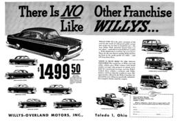 There Is No Other Franchise Like Willys ...   Print Ads