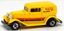 '32 Ford Delivery | Model Trucks | Hot Wheels 32 Delivery Orange, Red, Blue All Small Wheels