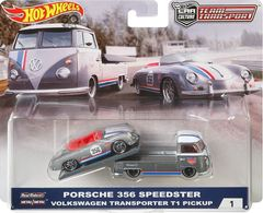 Team Transport - Car Culture | Model Vehicle Sets | Hot Wheels Car Culture Team Transport Porsche with T1 Transporter