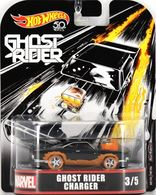 Ghost Rider Charger | Model Cars | Hot Wheels Retro Entertainment Ghost Rider Charger