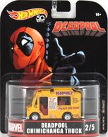 Deadpool Chimichanga Truck | Model Trucks | Hot Wheels Retro Entertainment Deadpool Chimichanga Truck