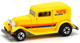 '32 Ford Delivery | Model Trucks | Hot Wheels 32 Ford Delivery Van Orange, Red, Blue Tampo
