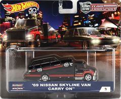 Team Transporter - Car Culture | Model Vehicle Sets | Hot Wheels Team Transport Car Culture - Black