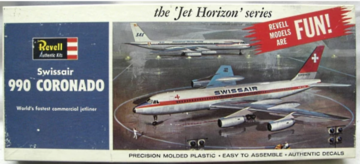 Swissair Convair CV-990 Coronado | Model Aircraft Kits