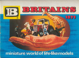Britains Miniature World of Life-Like Models 1977 | Brochures & Catalogs | Front
