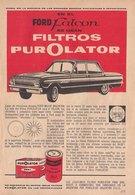 En El Ford Falcon Se Usan Filtros Purolator | Print Ads