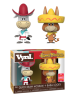 Quick Draw McGraw + Baba Looey [Summer Convention] | Vinyl Art Toys