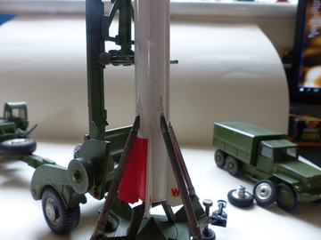 Corporal Guided Missile and Launcher | Model Military Artillery & Accessories