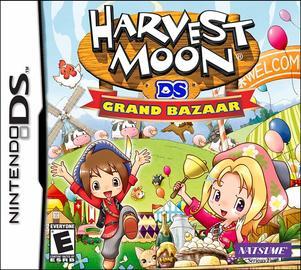 Harvest Moon: Grand Bazaar - Nintendo DS  | Video Games