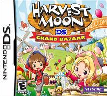 Harvest Moon: Grand Bazaar - Nintendo DS    Video Games