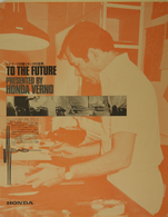 To The Future, Honda Verno | Posters & Prints