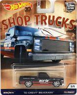 '83 Chevy Silverado | Model Trucks | Hot Wheels Car Culture '83 Chevy Silverado Black